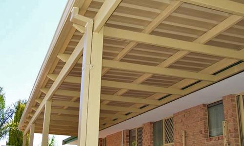 - Flat Roof Pergola